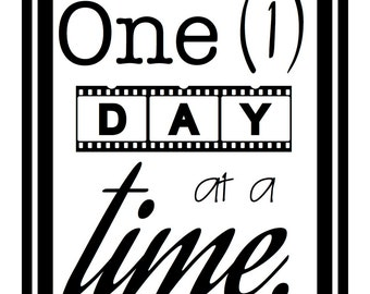 One day at a time printable