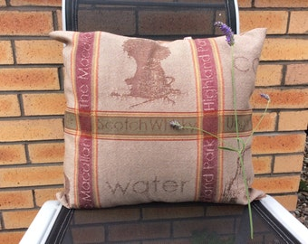 Large whisky Fabric Cushion Cover