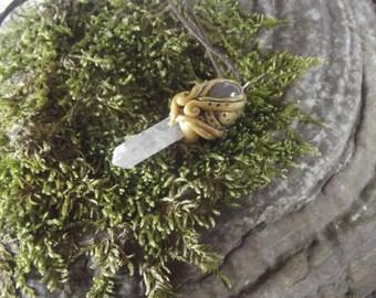 Shroomy Rosequartz - Woodland - Fairy - Fantasy