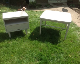 Retro Coffee Table and End Table