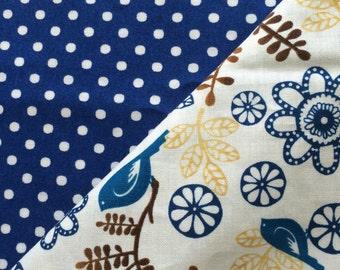 Blue Birds Baby Blanket