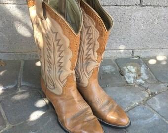 Handmade Vintage Cowboy Boots size 10