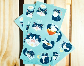 Orion the Cat Sticker Set