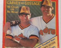 Vintage 1984 Inside Sports Magazine, Garvey and Gossage, Andrea Jaeger, Vintage Ads, Cigarette Ads, Alcohol Ads, George Brett, Sports