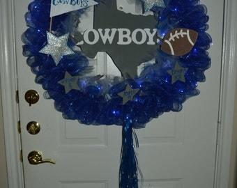 NFL Dallas Cowboys Wreath