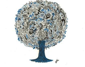 Tree Stationery Design