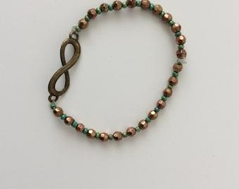 Infinity grün/braun