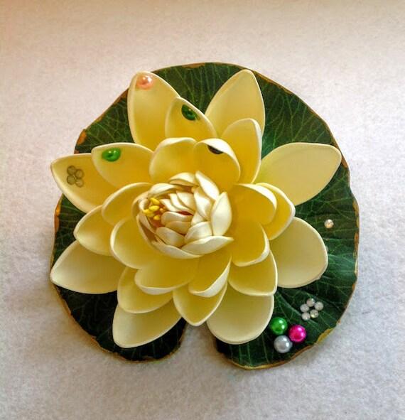 Tiana princesa diadema el casco de flor de sapo princesa