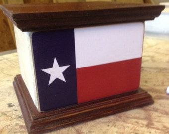 Texas Flag Box