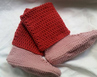Slipper boots, slippers, crochet slippers, crochet slipper boots, womens slippers, house slippers, womens slipper boots, crochet boots