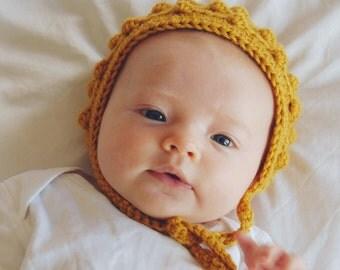 Bobble Bonnet Crochet Pattern