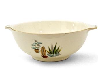 Alfred Meakin Cactus Bowl Vintage 1950's