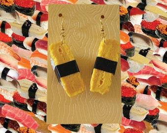 Tamago Sushi Earrings