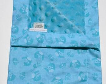 Small baby blanket,Lovey Blanket,Minky Security Blanket,Blanket,Baby Lovey, New Baby,Minky Blanket,Baby Shower Gift,Toddler Blanket