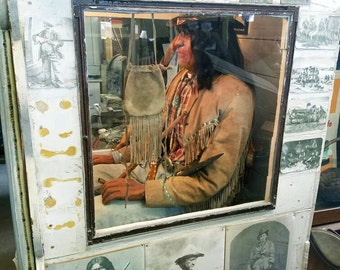 American Pickers Indian in the Cupboard