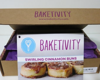 Baketivity Baking and Activity Kit - Cinnamon Buns