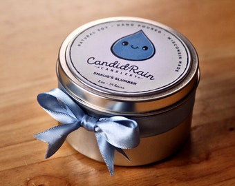 Smaug's Slumber - 8 oz natural soy tin candle - Lord of the Rings - CandidRain Candlery