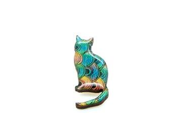 Cat Brooch - Okoki