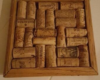 7 1/2 x 7 1/2 cork trivet