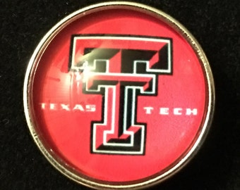 College Snaps - Texas Tech - its all 18mm & 20mm Snap Jewelry