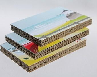 Pack of 3 Recycle cardboard paper print