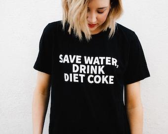Save Water, Drink Diet Coke Shirt