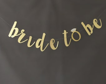 Bride to be banner, wedding banners, bachelorette banners, glitter banners,
