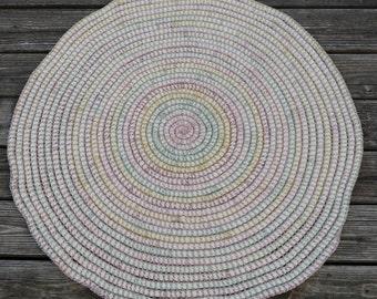Rainbow Spiral Rug