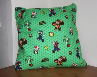 Handmade Mario Cushion