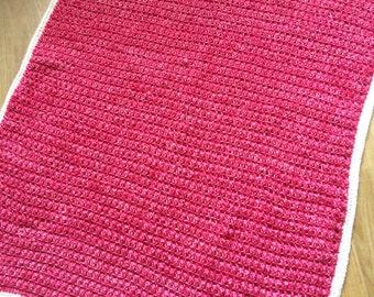 Pink Bobble Blanket