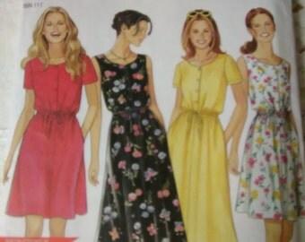 New Look Easy 6653 Dress Pattern