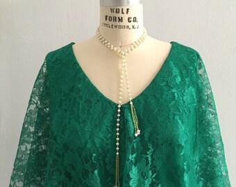 VINTAGE Mike Benet Dress - Emerald Green