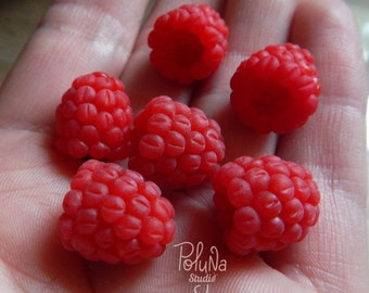 Raspberries charms