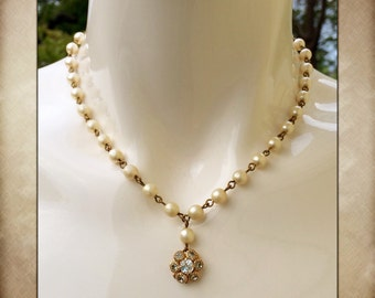 Antique Pearl Necklace