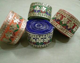 Handmade GotaPatti Lace 10 Yards.