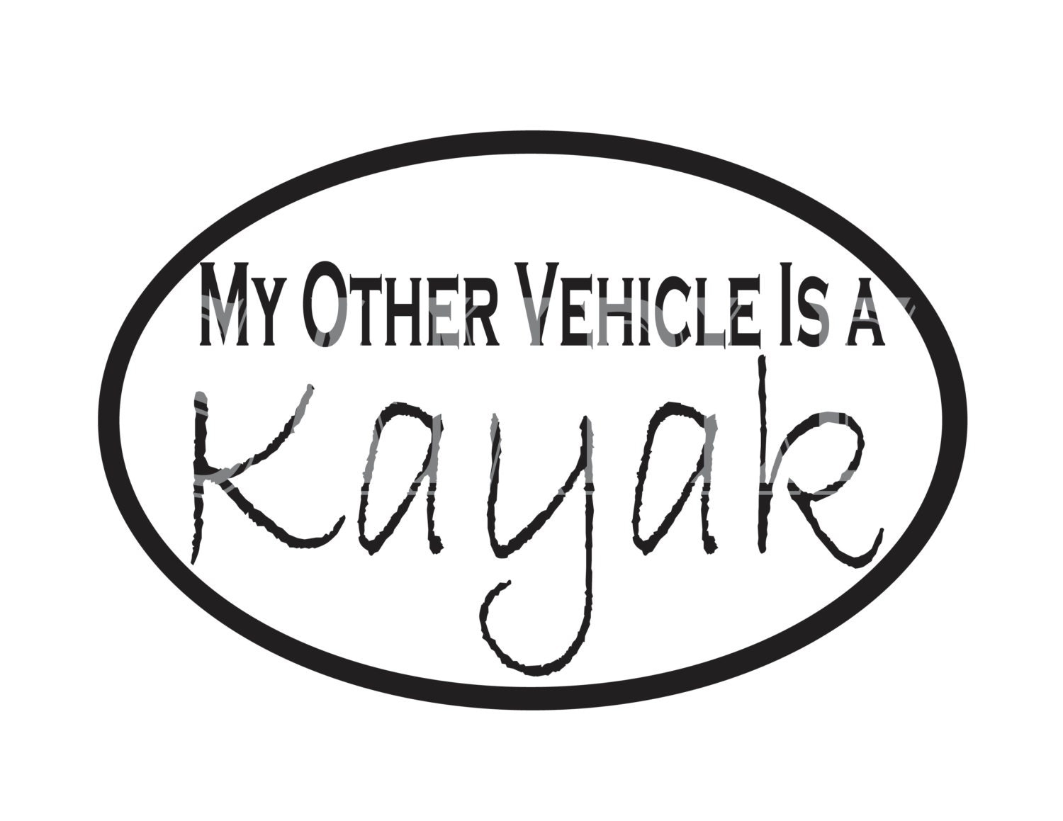 Download Kayak SVG Image File for Vinyl Cut Out Die Cutter~ My ...