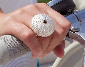 "Silver ring ""Sea Urchin"""