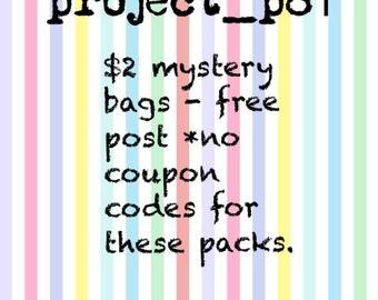 Stationery mystery packs!
