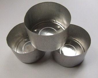 Aluminium Tealight Cups **9 hour** 10 pack