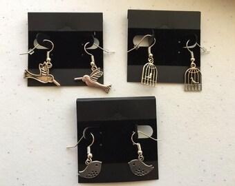 Birds Theme Earrings