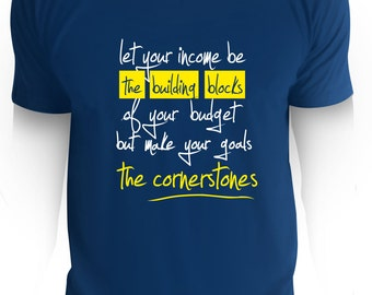 Make your goals the cornerstones