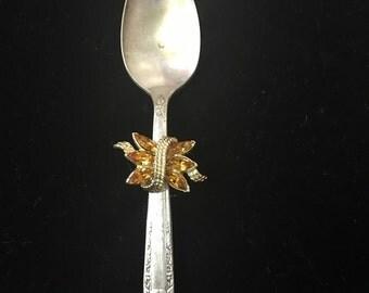 Embellished Gold Spoon