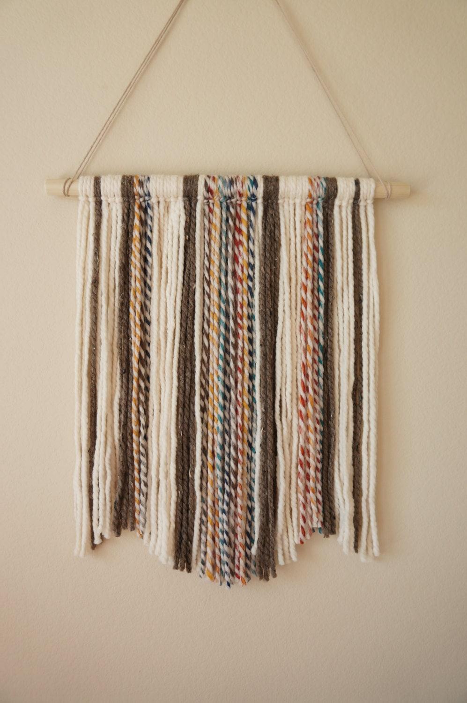 Yarn wall hanging for Yarn wall hanging