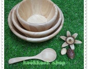 a bowl wood