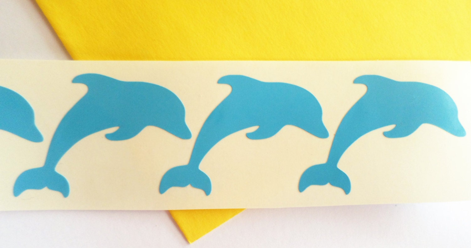 30 dolphin decal dolphin stickers dolphin wall decal vinyl wall 299 amipublicfo Image collections