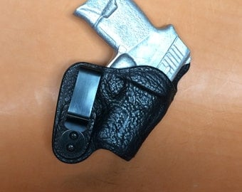 Sig P290 IWB Shark Skin Holster Lined and Steel Banded