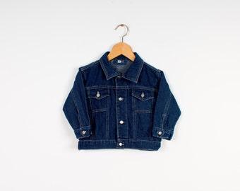 Kids denim jacket | Etsy