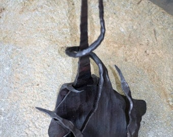 Breathtaking Hand Forged Metal Art Sculpture by Brandon Hunt of Cold Creek Ironworks
