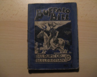 Vintage strip Buffalo Bill spills on ... 1950