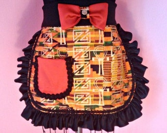 African cooking apron